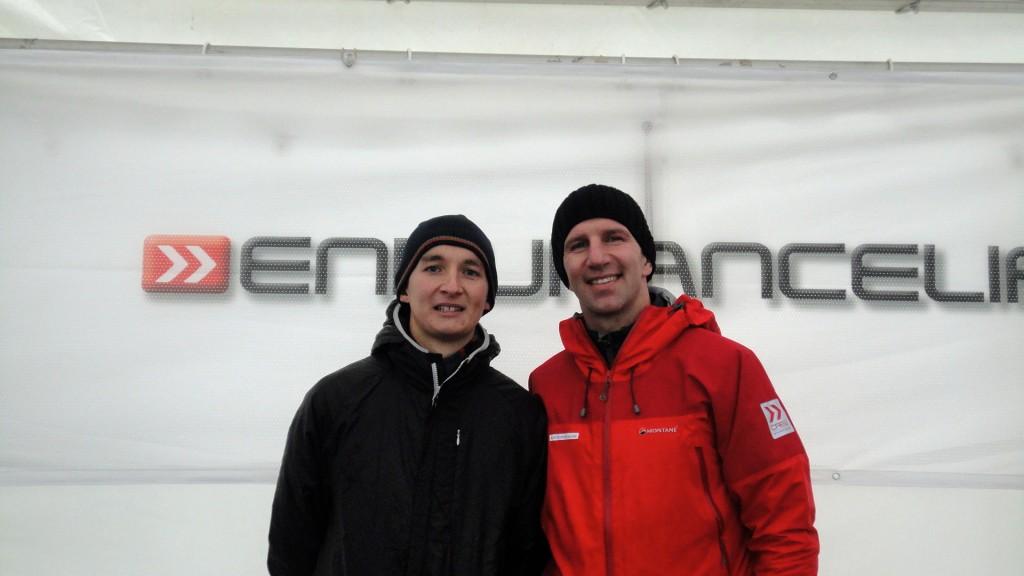 Jamie with Mr Awsome!