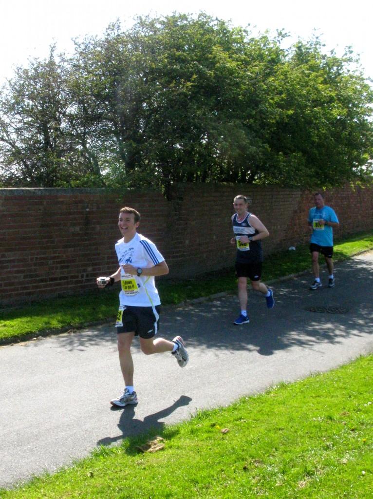 Jamie on the run!
