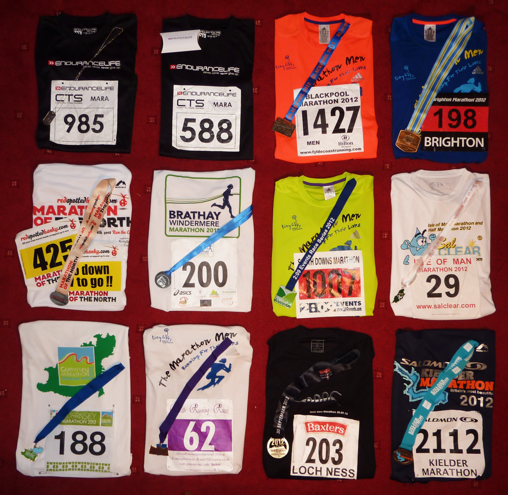12 Marathons Complete