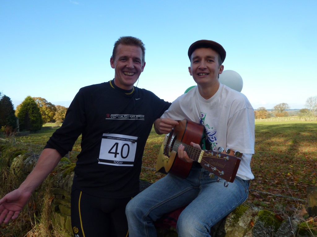 Busker at 8 Miles