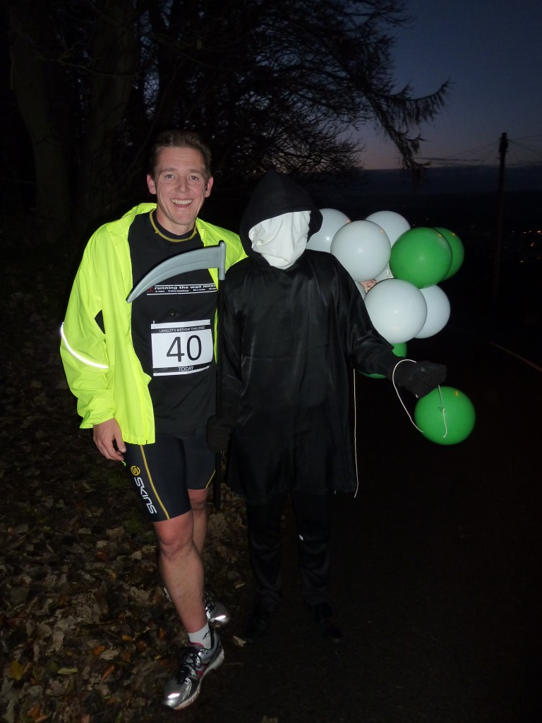 Spooky guest at 21.7 miles